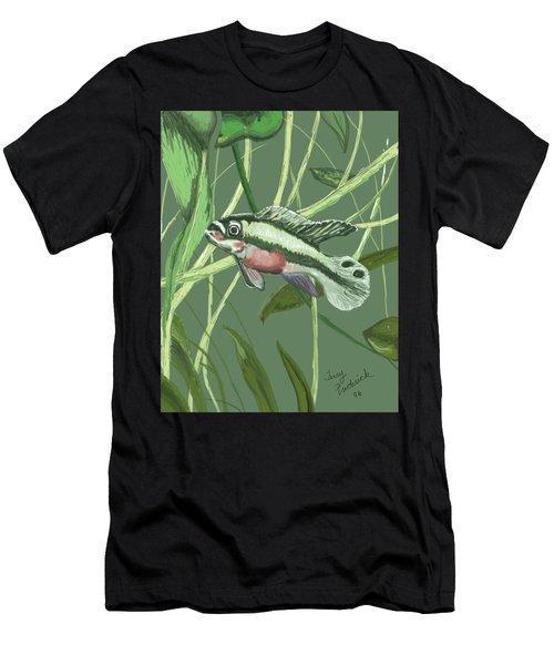 Tri Color Krib Men's T-Shirt (Athletic Fit)