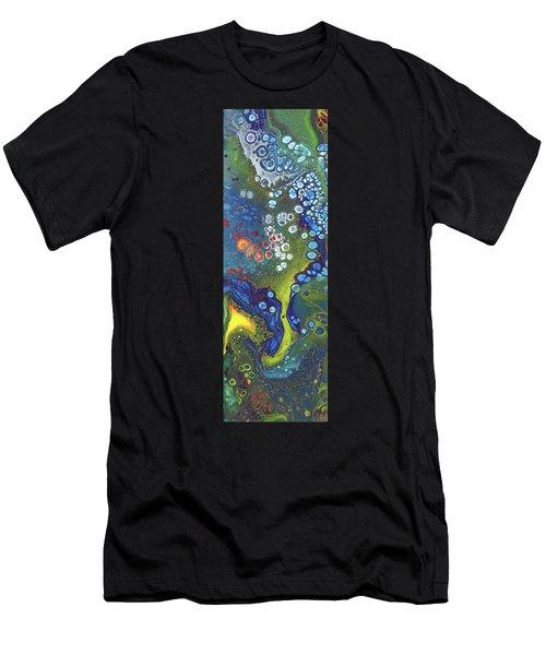 Tri Space Centre Men's T-Shirt (Athletic Fit)