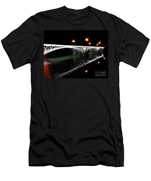 Triana Bridge Men's T-Shirt (Athletic Fit)
