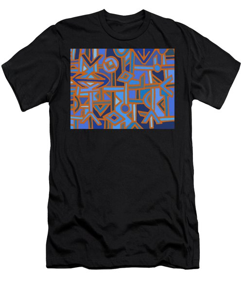 Tribal Kuba Traffic Men's T-Shirt (Athletic Fit)