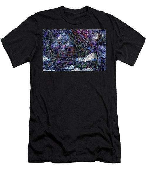 Tribal Ornamets Men's T-Shirt (Athletic Fit)