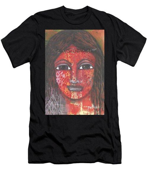 Tribal Woman Men's T-Shirt (Athletic Fit)