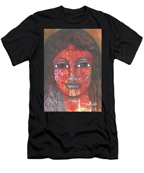 Tribal Woman Men's T-Shirt (Athletic Fit)
