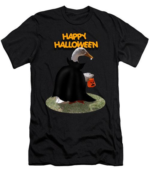 Trick Or Treat For Count Duckula Men's T-Shirt (Athletic Fit)
