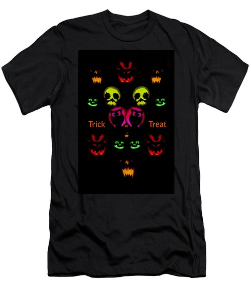 Trick Or Treat Men's T-Shirt (Slim Fit) by Greg Norrell