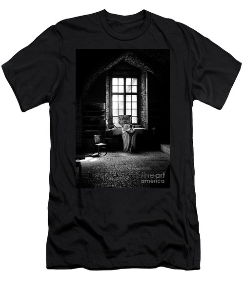 Tridentine Mass In An Ancient Chapel In The Old Dominican Monastery In Tallinn Men's T-Shirt (Athletic Fit)