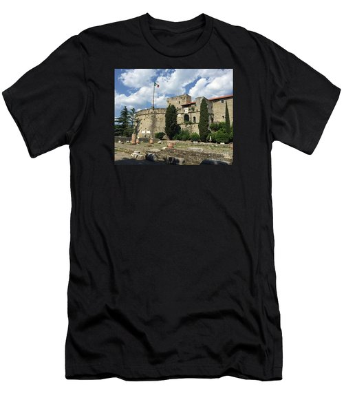 Trieste Castle San Giusto Italy Men's T-Shirt (Athletic Fit)