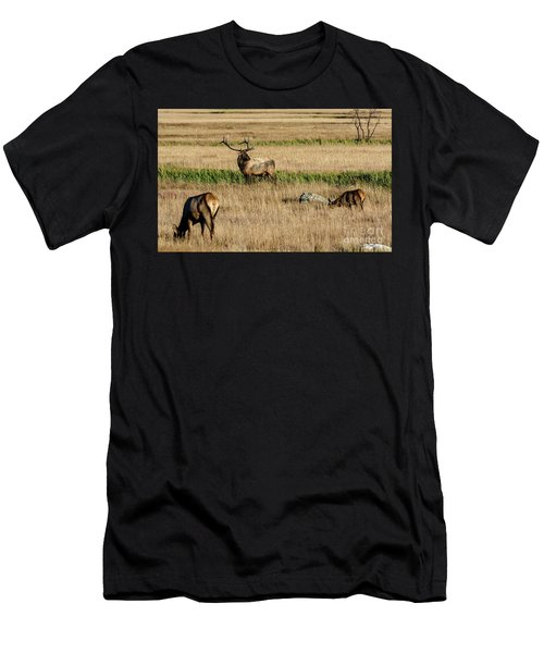 Men's T-Shirt (Athletic Fit) featuring the photograph Trifecta by Bitter Buffalo Photography