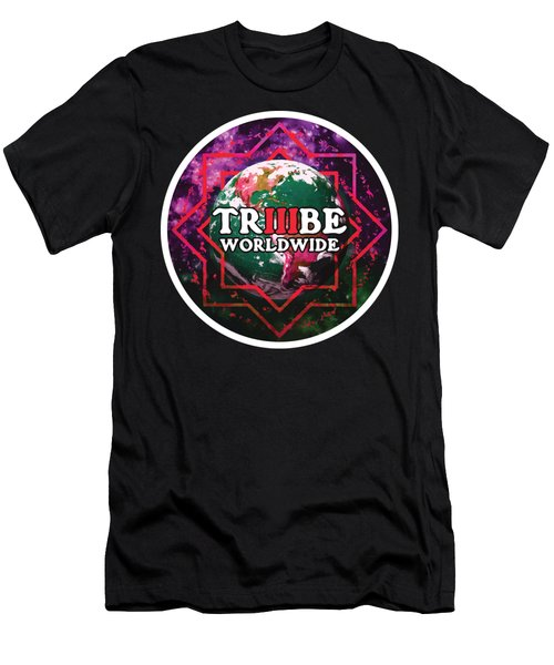 Triiibe Worldwide By Lorcan Men's T-Shirt (Athletic Fit)