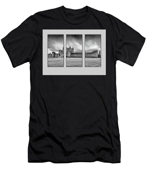 Trim Castle Triptych  Men's T-Shirt (Athletic Fit)