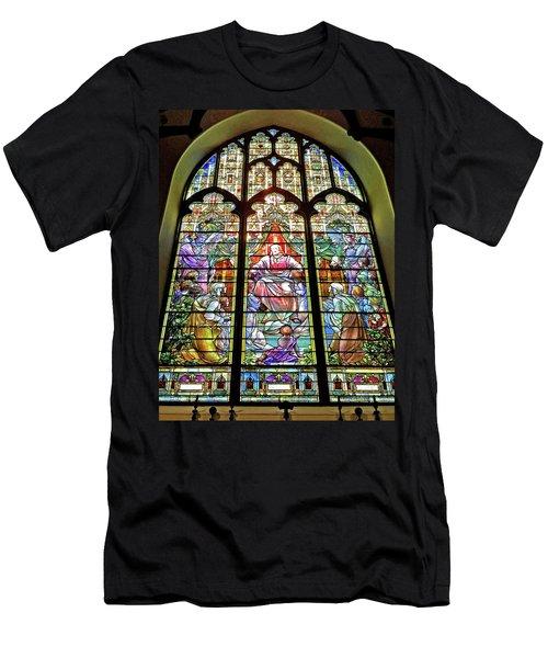 Trinity Church Galveston Men's T-Shirt (Athletic Fit)