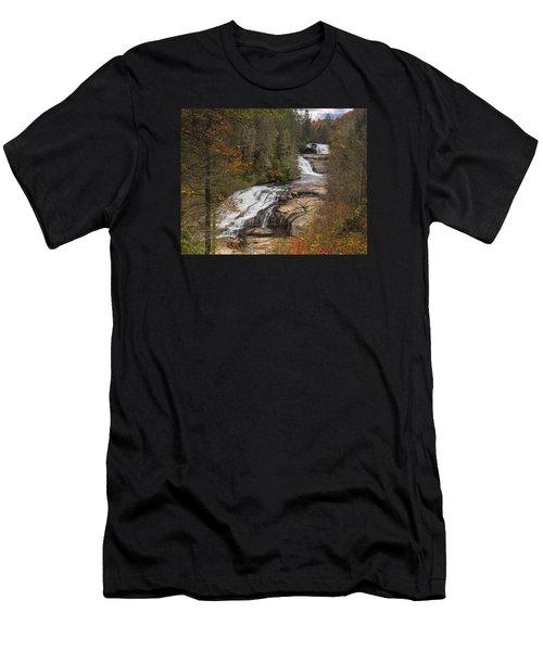 Triple Falls Men's T-Shirt (Athletic Fit)