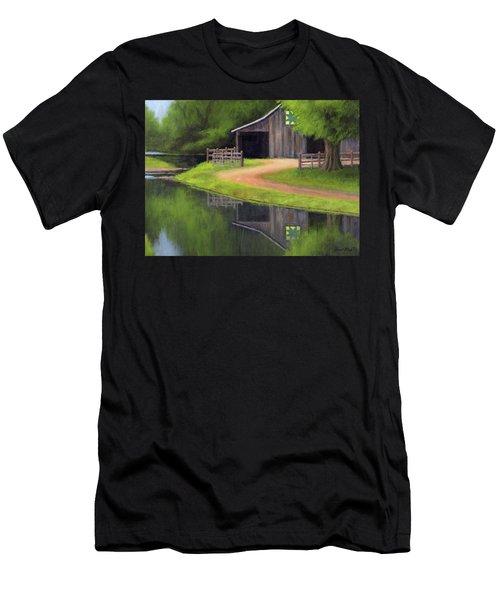 Triple L Ranch  Men's T-Shirt (Athletic Fit)