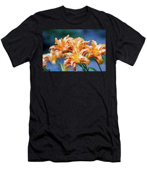 Triple Lilies Men's T-Shirt (Athletic Fit)