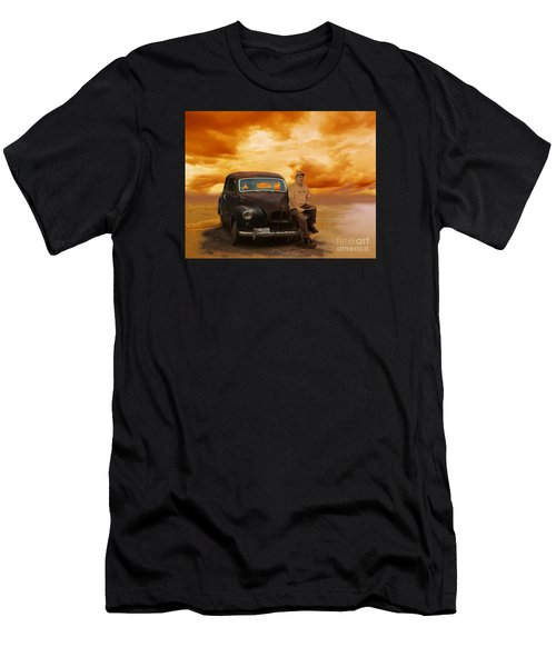 Trippin' With My '48 Austin A40 Men's T-Shirt (Athletic Fit)