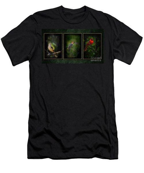 Triptych Men's T-Shirt (Athletic Fit)
