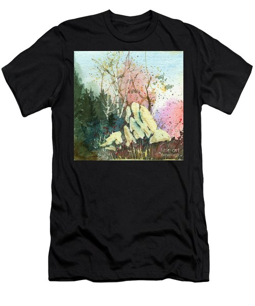 Triptych Panel 1 Men's T-Shirt (Athletic Fit)