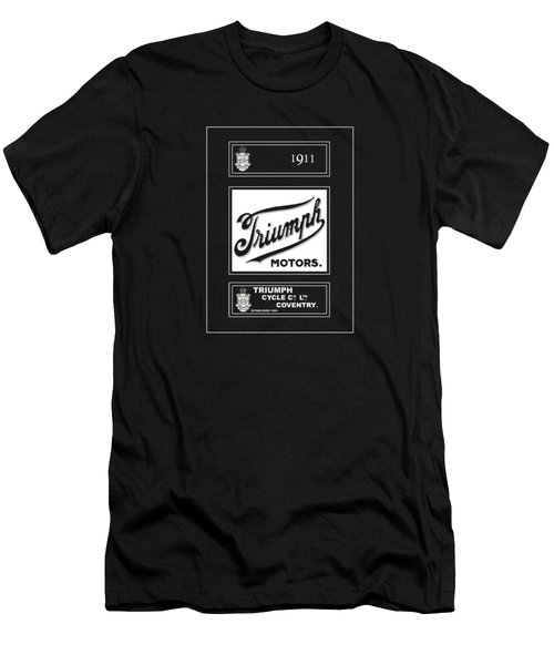 Triumph 1911 Men's T-Shirt (Slim Fit) by Mark Rogan