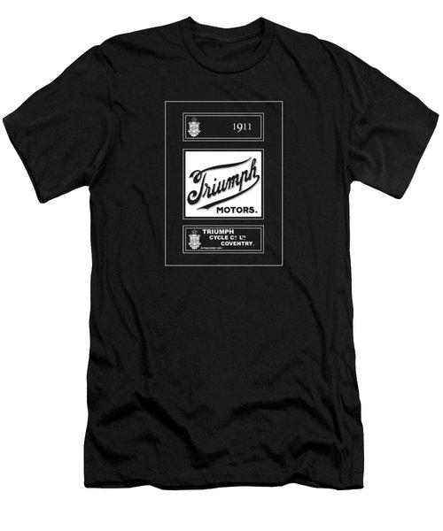 Triumph 1911 Men's T-Shirt (Slim Fit) by Mark Rogan