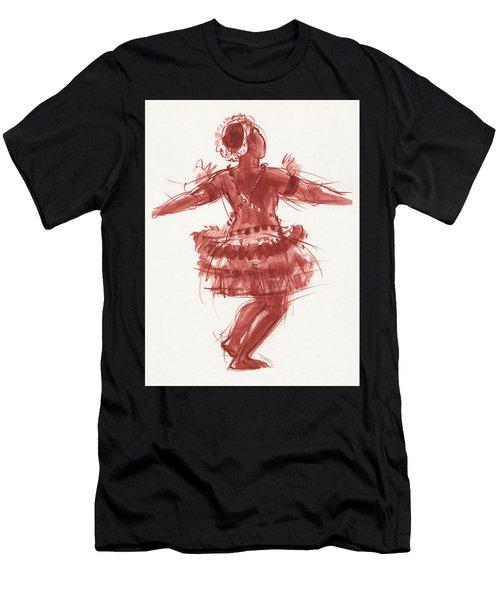Trobriand Islands Dancer Men's T-Shirt (Athletic Fit)