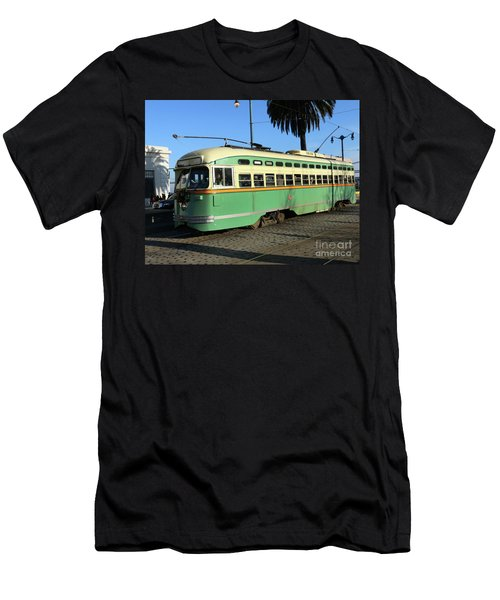 Trolley Number 1058 Men's T-Shirt (Athletic Fit)