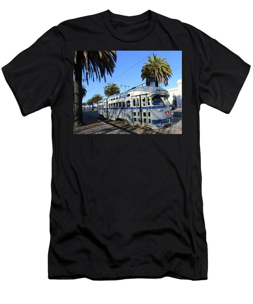 Trolley Number 1070 Men's T-Shirt (Athletic Fit)