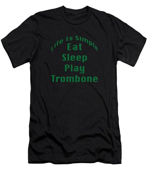 Trombone Eat Sleep Play Trombone 5517.02 Men's T-Shirt (Athletic Fit)