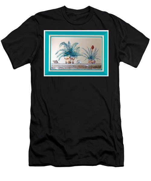 Trompe L'oeil Plants Men's T-Shirt (Athletic Fit)