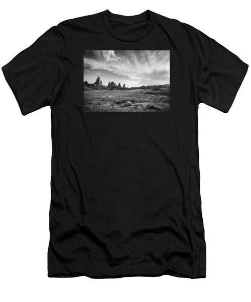 Trona Pinnacles Sky Men's T-Shirt (Athletic Fit)