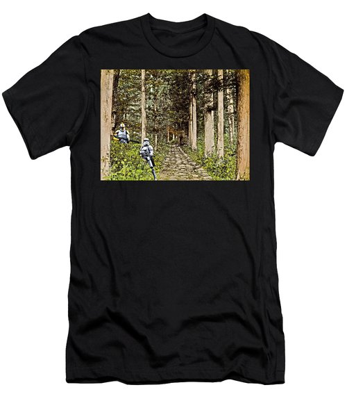 Troopers On The Planet Men's T-Shirt (Athletic Fit)