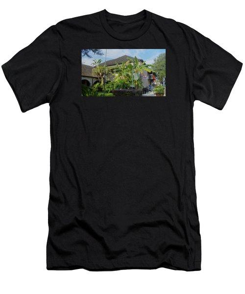 Tropical Atmosphere In St Augustine Men's T-Shirt (Athletic Fit)