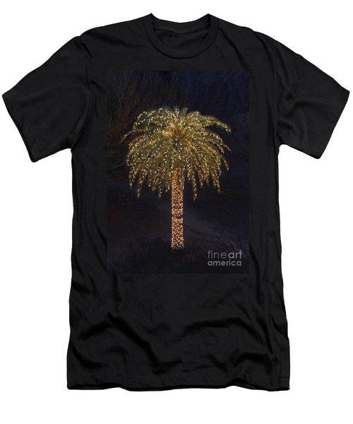 Tropical Christmas Men's T-Shirt (Athletic Fit)