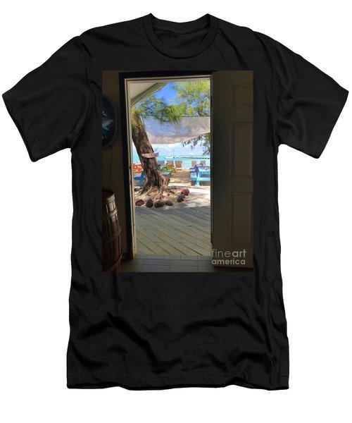 Tropical Entrance Men's T-Shirt (Athletic Fit)