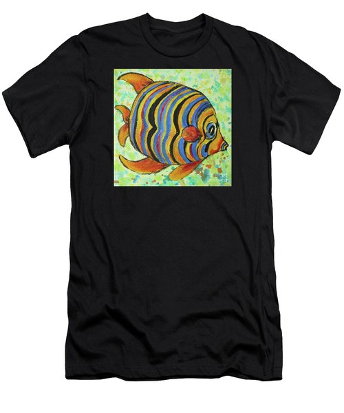 Tropical Fish Series 4 Of 4 Men's T-Shirt (Athletic Fit)