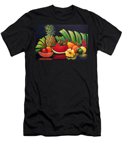 Tropical Fruit Men's T-Shirt (Athletic Fit)