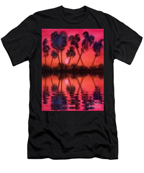 Tropical Heat Wave Men's T-Shirt (Athletic Fit)