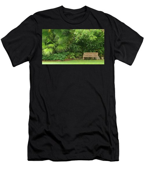 Tropical Seat Men's T-Shirt (Athletic Fit)