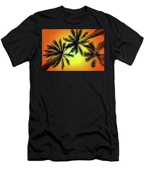 Tropical Vibrance Men's T-Shirt (Athletic Fit)