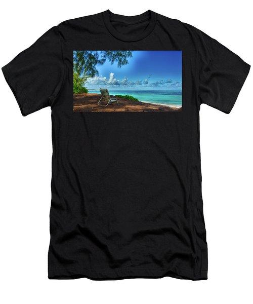 Tropical View Men's T-Shirt (Athletic Fit)