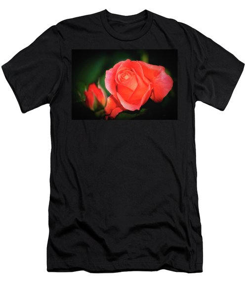 Tropicana Rose Men's T-Shirt (Athletic Fit)