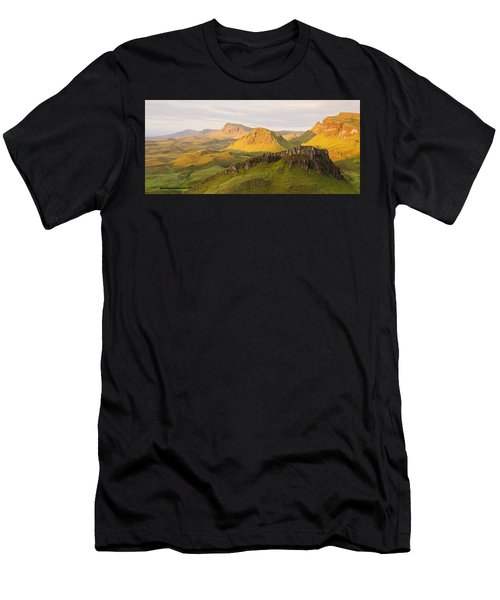 Trotternish Summer Panorama Men's T-Shirt (Athletic Fit)