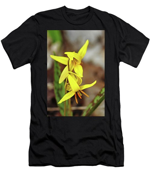 Trout Lily Duo Men's T-Shirt (Athletic Fit)