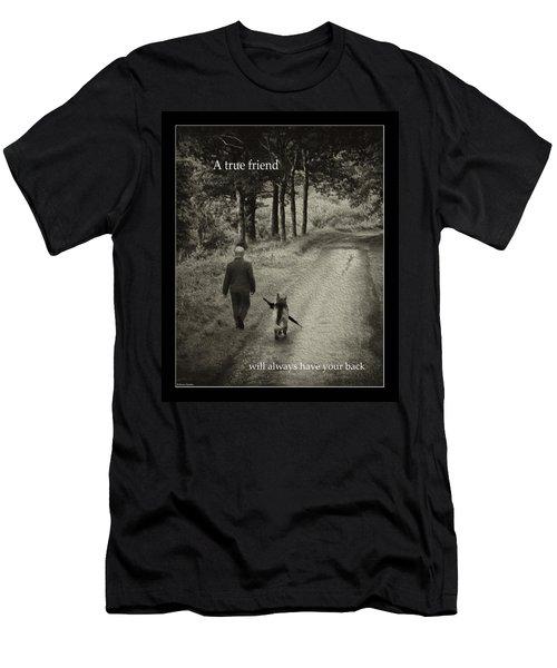 True Friend Men's T-Shirt (Athletic Fit)
