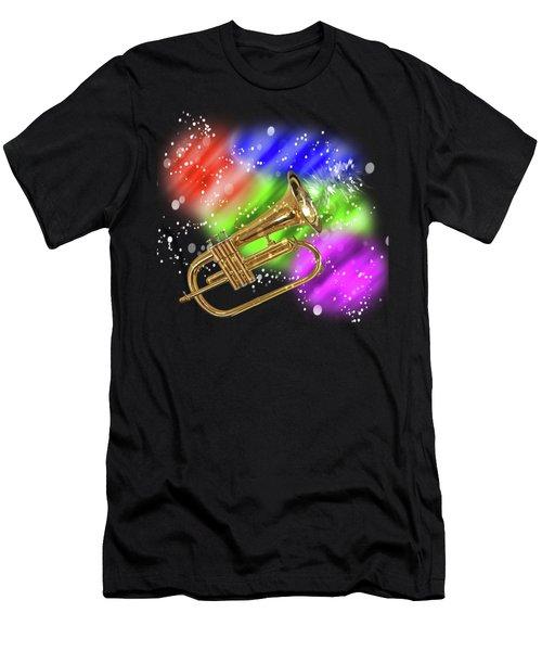Trumpet Celebration Men's T-Shirt (Athletic Fit)