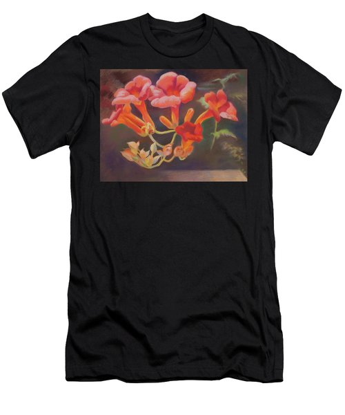 Trumpet Flowers Men's T-Shirt (Athletic Fit)