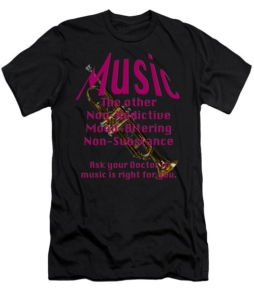 Trumpet Music Is Right For You 5496.02 Men's T-Shirt (Athletic Fit)