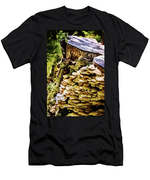 Trunk And Mushrooms Men's T-Shirt (Athletic Fit)