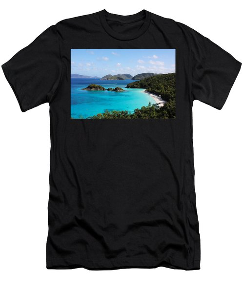 Trunk Bay, St. John Men's T-Shirt (Athletic Fit)