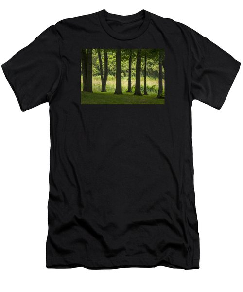 Trunks In A Row Men's T-Shirt (Athletic Fit)