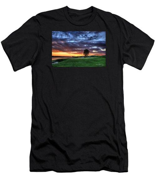 Try Me The Landing Men's T-Shirt (Slim Fit) by Reid Callaway